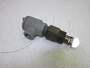 W.E. Anderson FLOTECT Vane Operated Flow Switch, V4-2-U, Brass Body, Universal Vane