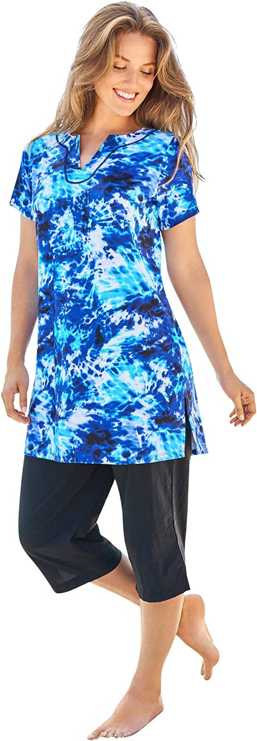 Swimsuits Award For Popular products All Women's Plus Longer Size Short-Sleeve S Length