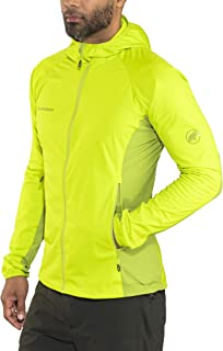 Mammut Men's Kento Light So Hooded Jacket, Sprout-Dark Sprout, XL, 1010-23250-4593-116