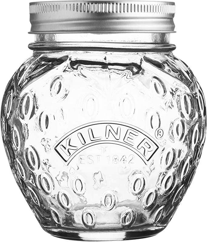 Preserve Jar 400 ML Strawberry By Kilner