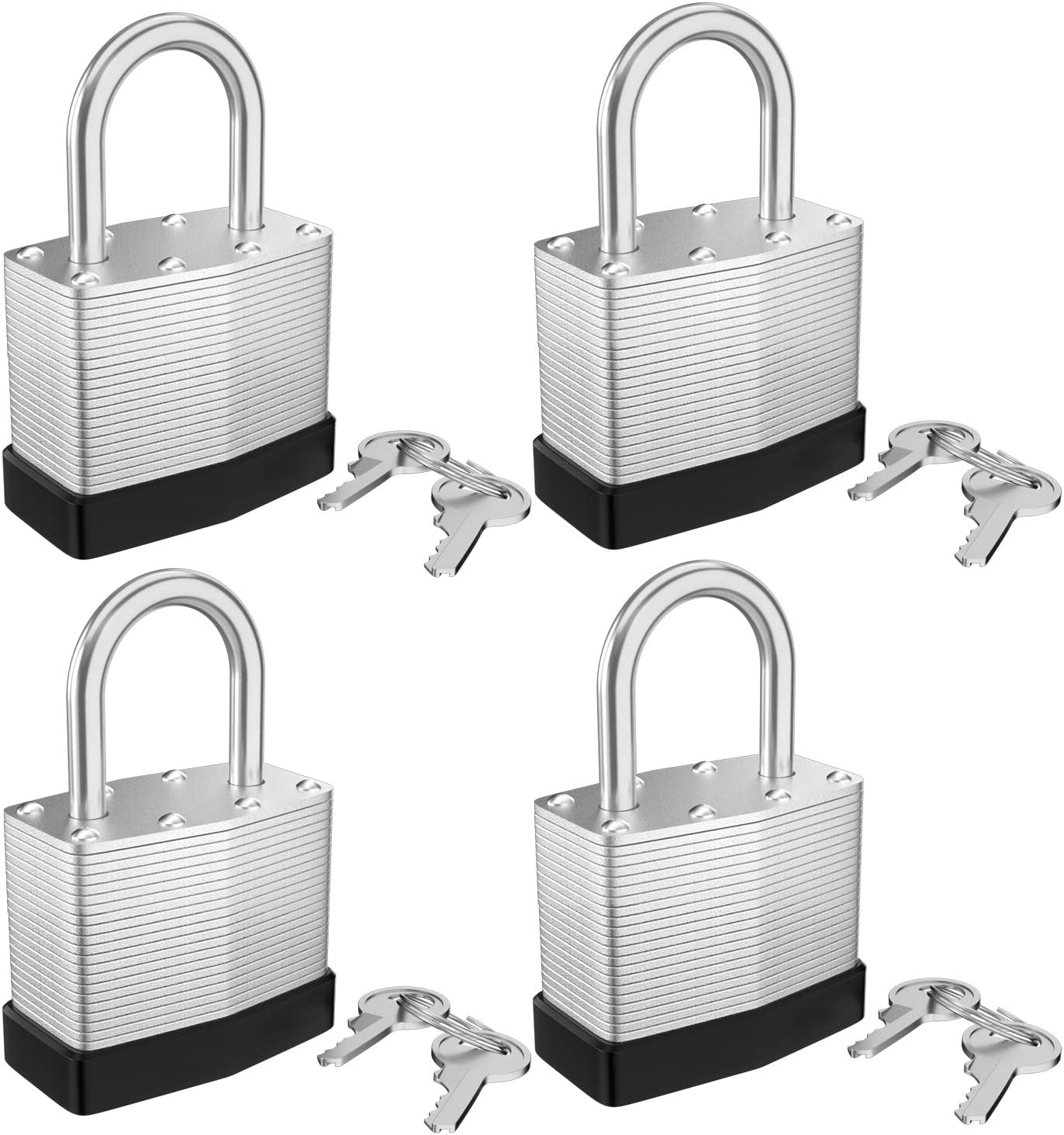 KECHUANG Key Padlock Limited time trial price Laminated Ranking TOP9 Steel Hitch 16