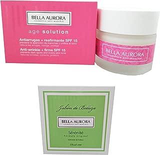 Bella Aurora Age Solution Anti-wrinkle Cream 50ml + Sérénité Beauty Soap 100gr