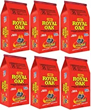 Case of 6 - Royal Oak, 7.7 LB, Premium Charcoal Briquettes