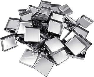Allwon 56-pack lege vierkante metalen pannen voor oogschaduwpalet magnetisch make-uppalet (26 mm)