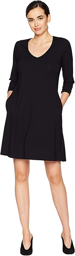 Quinn 3/4 Sleeve Pocket Dress