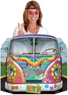 Beistle Hippie Bus Photo Property, 3-Feet 10-Inch by 25-Inch, Multicolor