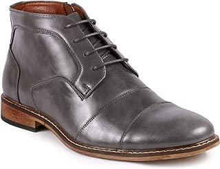 MC147 Men's Cap Toe Formal Dress Casual Oxford Ankle Boot