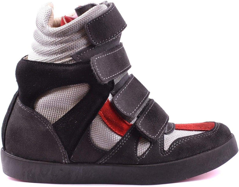 ISHIKAWA Women's MCBI17532 Grey Suede Ankle Boots
