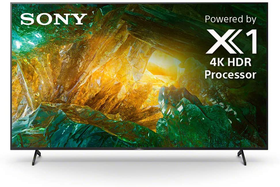 Sony X800H 55-inch TV: 4K Ultra HD Smart LED TV with HDR and Alexa Compatibility - 2020 Model