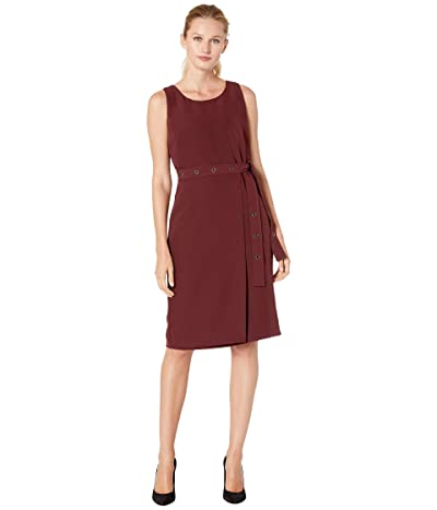 NIC+ZOE Under Wraps Dress (Port) Women