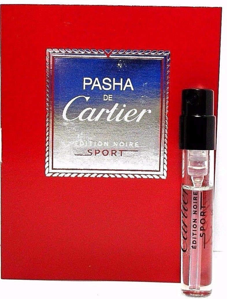 Pasha De Cartier Edition Ranking TOP4 Noire .05oz Spray Sample Toilett Nashville-Davidson Mall Eau