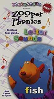 Zooper Phonics: Teaching Your Child Letter Sounds [VHS]