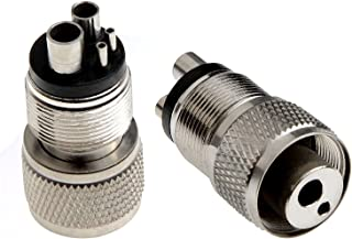 no logo WSF-Adapters Size : 8mm 1pc 4mm 6mm 8mm 10mm 12mm 14mm 16mm 19mm Hose Barb Bulkhead 304 Stainless Steel Barbed Tube Pipe Fitting Coupler Connector Adapter