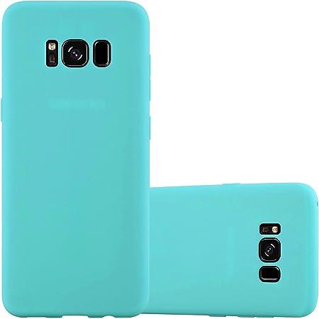 Cadorabo Hülle Für Samsung Galaxy S8 In Candy Blau Elektronik