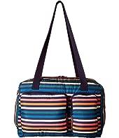 Sonia Rykiel Kids - Multicolored Striped Diaper Bag