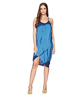 High Tide Gauze Pali Wrap Dress
