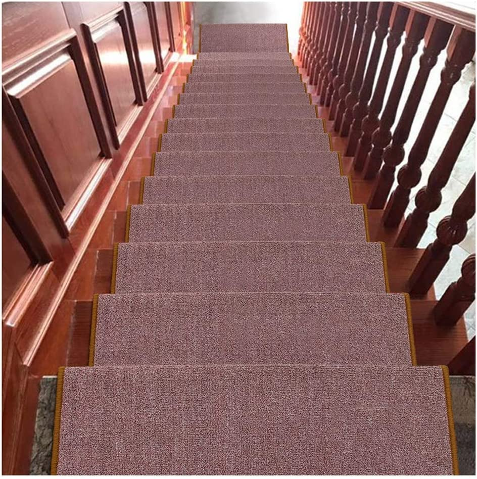 Stair Treads Carpet Step Mats Non-slip Super intense Outlet ☆ Free Shipping SALE 14mm Rugs H 24x65cm