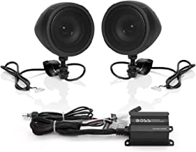 Boss Audio Systems MCBK420B Motorcycle Bluetooth Speaker...