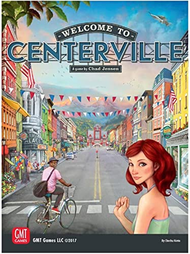 GMT Games GMT1718 Welcome to Centerville, Mehrfarbig
