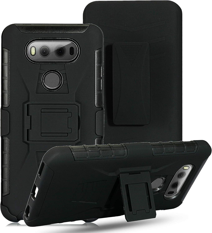 Cocomii Vertex Belt Clip Holster LG G5 Case, Slim Thin Matte Kickstand Swivel Belt Clip Holster Reinforced Drop Protection Fashion Phone Case Bumper Cover Compatible with LG G5 (Black)