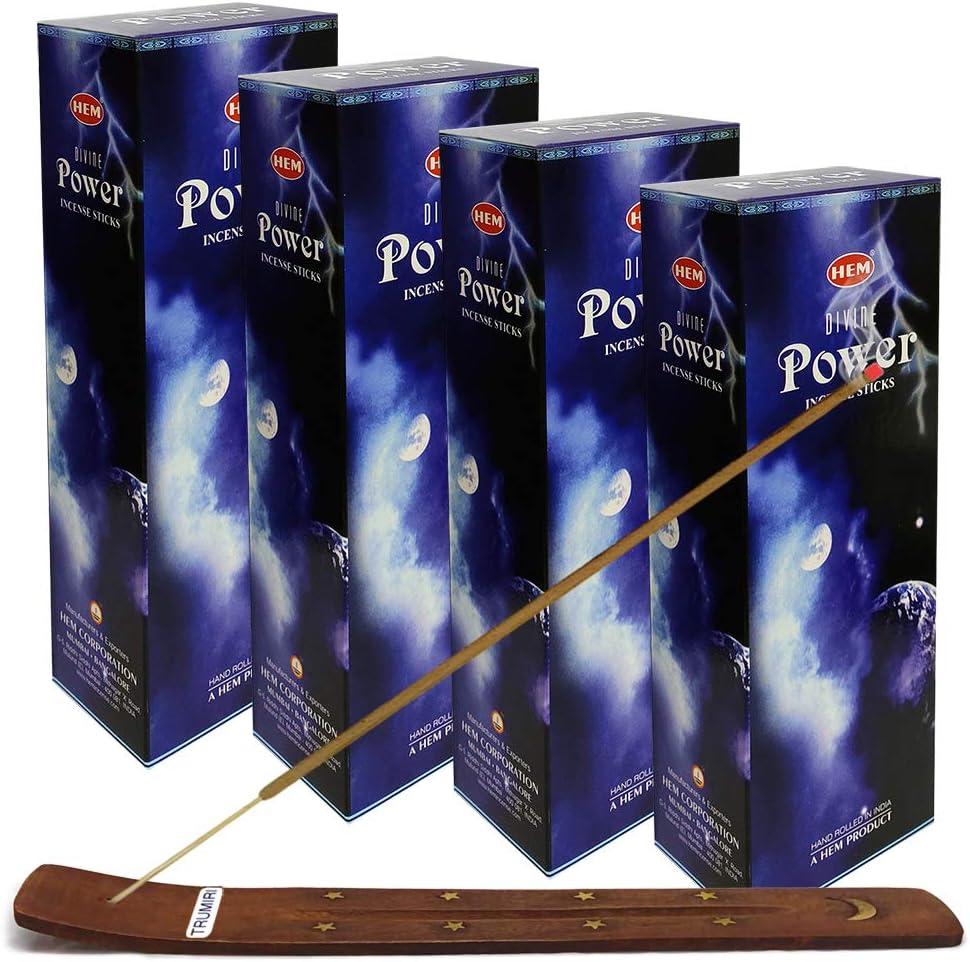 TRUMIRI Incense Stick Holder Bundle with Hem In Power 高級 希望者のみラッピング無料 Divine 20g