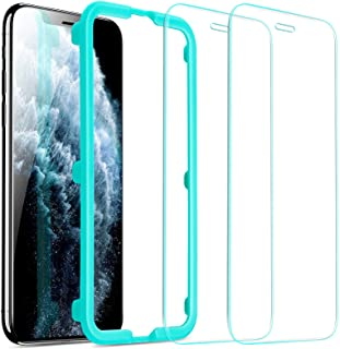 ESR Screen Protector for iPhone 11 Pro Max/iPhone Xs Max [2 Pack] [Easy Installation Frame] [Case Friendly], Premium Tempe...