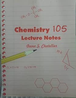 Chem 105 Lecture Notes