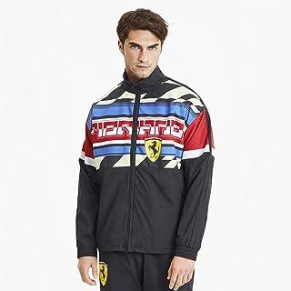 PUMA Men's Scuderia Ferrari Street Woven Jacket