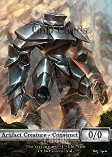 GnD Cards 3X Construct #4 Custom Altered Tokens (for Karn, Scion of Urza) MTG Dominaria