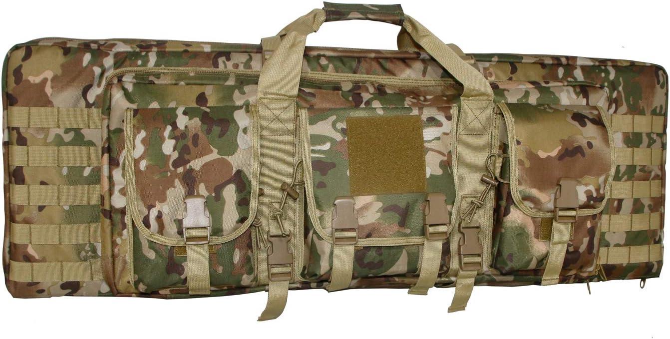 WolfWarriorX Long Rifle depot Case Limited time cheap sale Tactical Gun Rifles Bag Double Moll