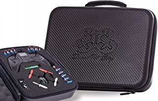 Drone Pit Stop Carrying Case Compatible with Hubsan X4 h107l, h107c, h108 Spyder Models - Splash-Proof   Durable   Compact   EVA Material - Carry Your Drone with Maximum Protection