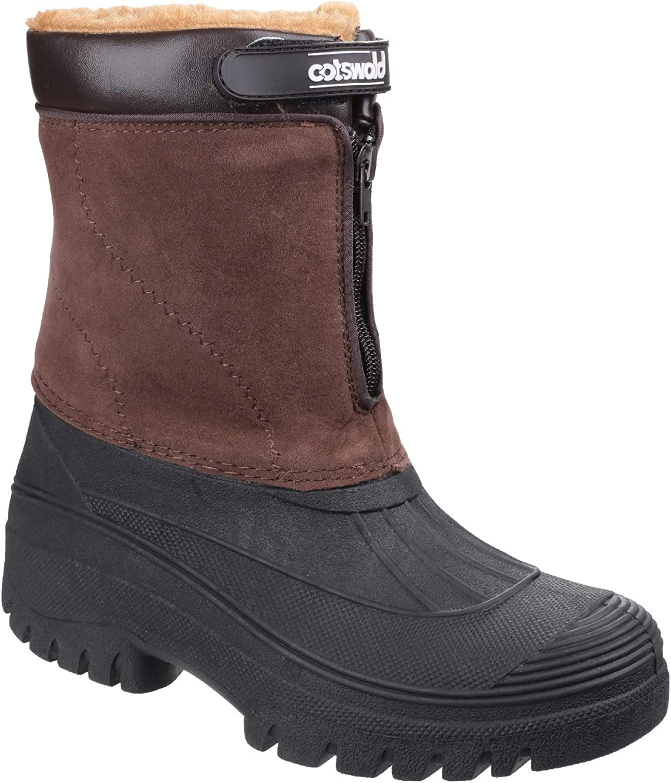 Cotswold Womens Venture Waterproof Winter Boot Brown Size UK 6 EU 39
