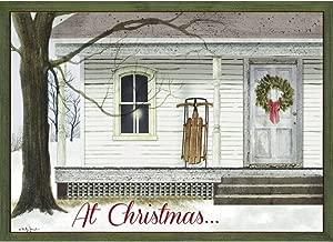 Legacy Publishing Group Boxed Holiday Greeting Cards, Faithful Church (HBX32118)