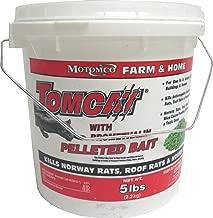 Motomco Tomcat Mouse and Rat Bromethalin Pellets, 5-Pound