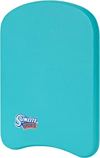 Sunlite Sports Swimming Kickboard, Training Aid Float for Swimming and Pool Exercise, Boogie Board Workout Equipment, EVA ...