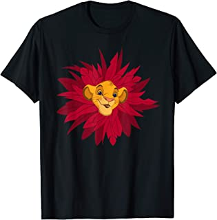 Disney The Lion King Simba Leaf Mane T-Shirt