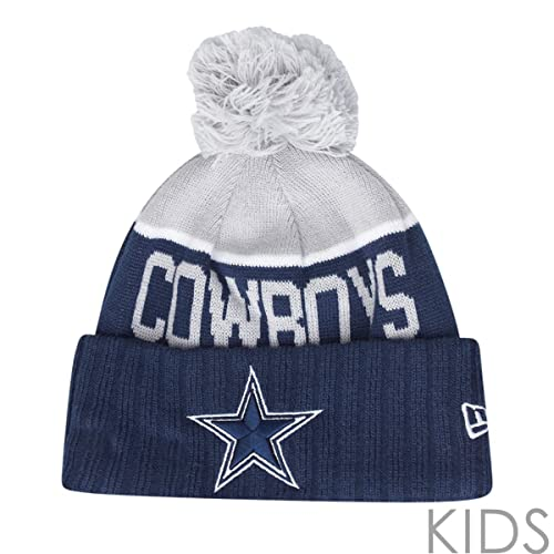 bc1836c86 New Era NFL SIDELINE KIDS Beanie - Dallas Cowboys