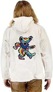 Grateful Dead Natural Baja Tie Dye Dancing Bear 2X
