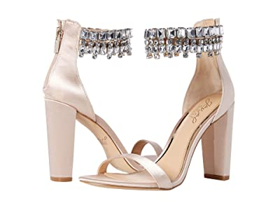 Jewel Badgley Mischka Dancer (Champagne) High Heels