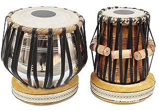 Brass Made Tabla Set Percussion Musical Instrument with Carry Bag & Cushion/tabla set,tabla trommel,tabla bayan,tabla drums,tabla musik instrument,tabla drum set,indian tabla set