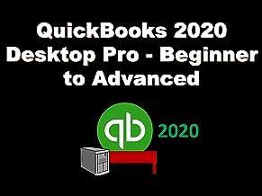 QuickBooks 2020 Desktop Pro - Beginner to Advanced