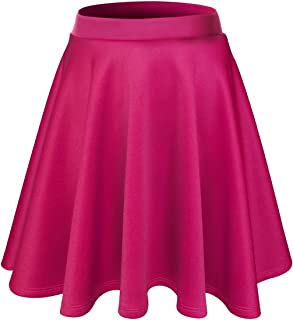 Womens Flared Skater Mini Skirt (Made in USA)