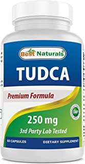 Best Naturals TUDCA 250mg (Tauroursodeoxycholic Acid) - 60 Veg Capsules - 2 Months Supply