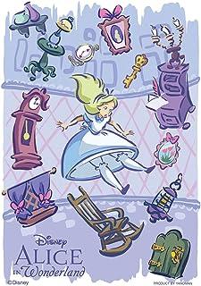 70ピース ジグソーパズル ふしぎの国のアリス アリスは不思議の国へ【プリズムアートプチ】(10x14.7cm)