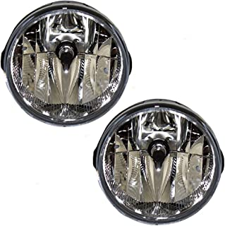 Fog Light Lamp Lens Replacement for Jeep SUV 55156733AC AutoAndArt