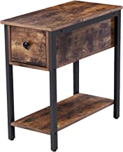 Best side end table with drawers Reviews