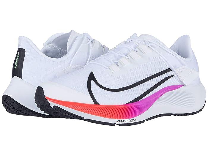 Pera paso Lógicamente  NikeNike Air Zoom Pegasus 37 FlyEase (White/Flash Crimson/Hyper Violet)  Women's Shoes   DailyMail