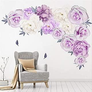 Best purple flower decals Reviews