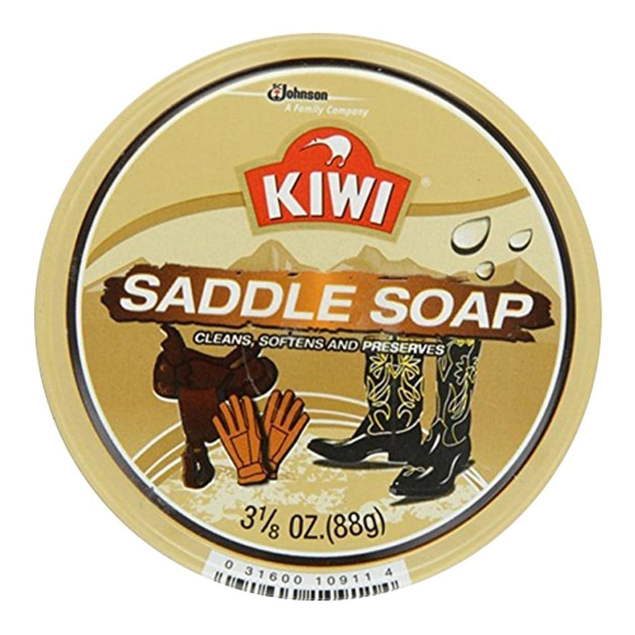 同等の失態不定Kiwi サドルソープ3.125オズ(7パック) 7のパック