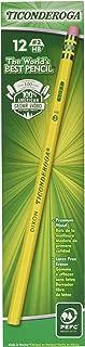 Dixon Ticonderoga Wood-Cased Pencils, #2 HB, Yellow, Box of 12 (3-Pack) (13882)